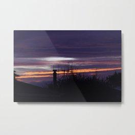 Taupo Sunrise Metal Print