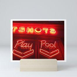 Neon picture Mini Art Print