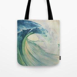 Incoming Energy Wave Tote Bag
