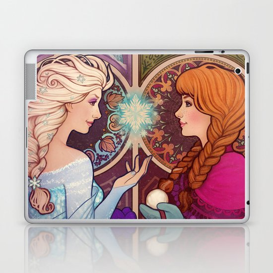 Let Me In Laptop & iPad Skin