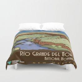 Vintage poster - Rio Grande Del Norte Duvet Cover