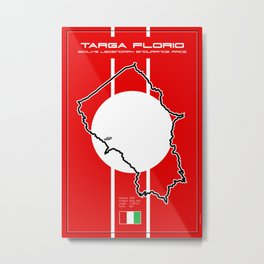 Targa Florio Metal Print