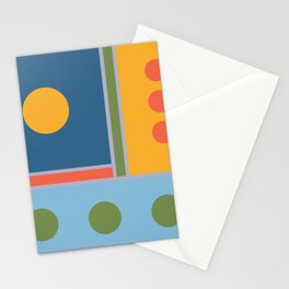 Millennium Blocks Stationery Cards