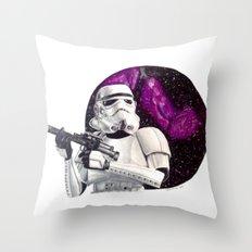 GALAXY STORMTROOPER Throw Pillow