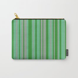 Spring Stripes Carry-All Pouch