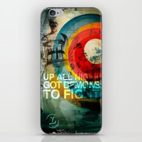 inner demons iPhone & iPod Skins featuring DEMONS by Leonardo Tezcucano