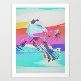 BRING YOUR DANCE Art Print