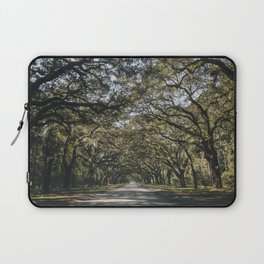 Wormsloe Live Oak Avenue - Savannah II Laptop Sleeve