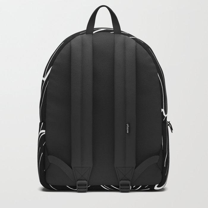 The dark mountain range Backpack