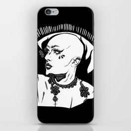 Sasha Velour 2 iPhone Skin