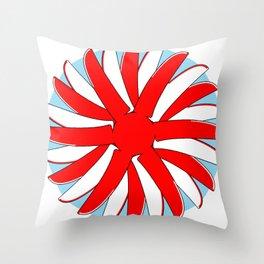 Rising Prop Throw Pillow