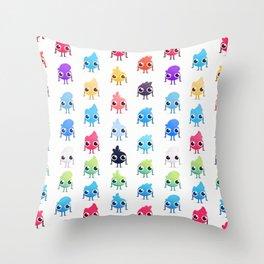 Cute Little Guys Throw Pillow
