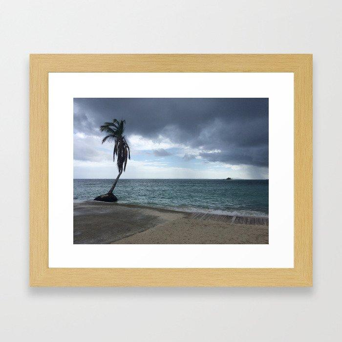 Palomino Island, Puerto Rico Framed Art Print