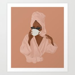Treat Yourself Art Print
