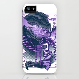 Shin Atomic Fire Born! iPhone Case