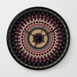 Mandala 273 Wall Clock