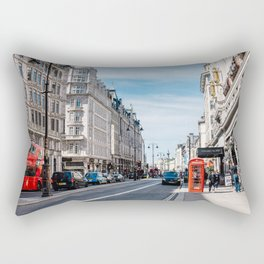 The Strand in London Rectangular Pillow