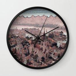 Church Square Wall Clock