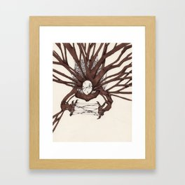 Personal Demon: Addiction Framed Art Print