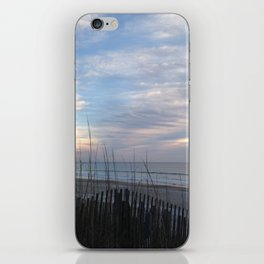 Chilling clouds iPhone Skin