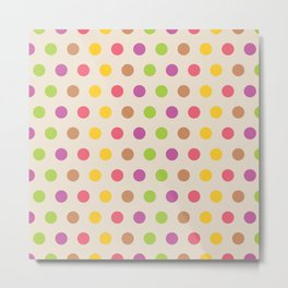 dotted Metal Print