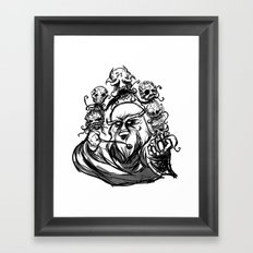 Wizard of Necroz Framed Art Print