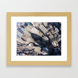 In The Shadow Of Greatness. Framed Art Print