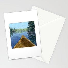 canoe bow Stationery Cards
