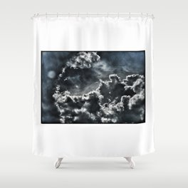 InTO THE SKY - © Gerald Robin Shower Curtain