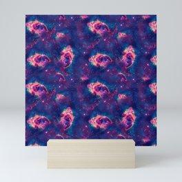 Purple Red Sandstorm Universe Mini Art Print