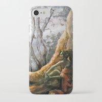 elf iPhone & iPod Cases featuring Elf by Cassie's Wonderland