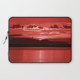 Red Sea at Sunset Laptop Sleeve