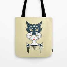 Wolf Tribe Tote Bag