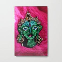 Bodhisattva of Compassion Green Tara Metal Print
