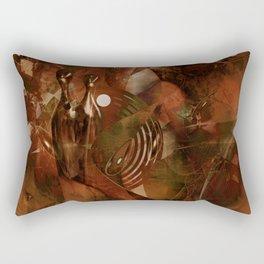 The final earth song Rectangular Pillow