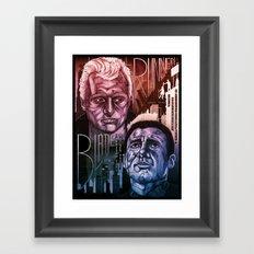 Blade Runner 30th anniversary Framed Art Print