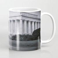 washington dc Mugs featuring Resolve - Washington, DC by tflow13