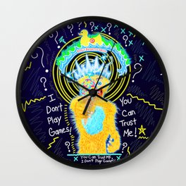 The Games People Play Wall Clock