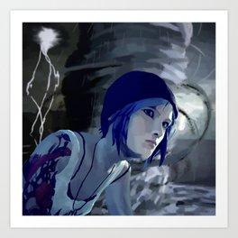 Chloe and The Storm Art Print