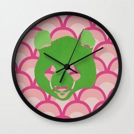 PANDA WAVES Wall Clock