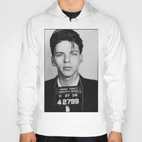 frank sinatra Hoodies featuring Frank Sinatra Mugshot by Neon Monsters