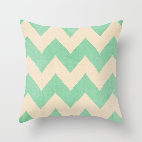 Malibu - Chevron Throw Pillow