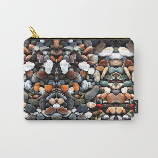 Stone multicolored Carry-All Pouch