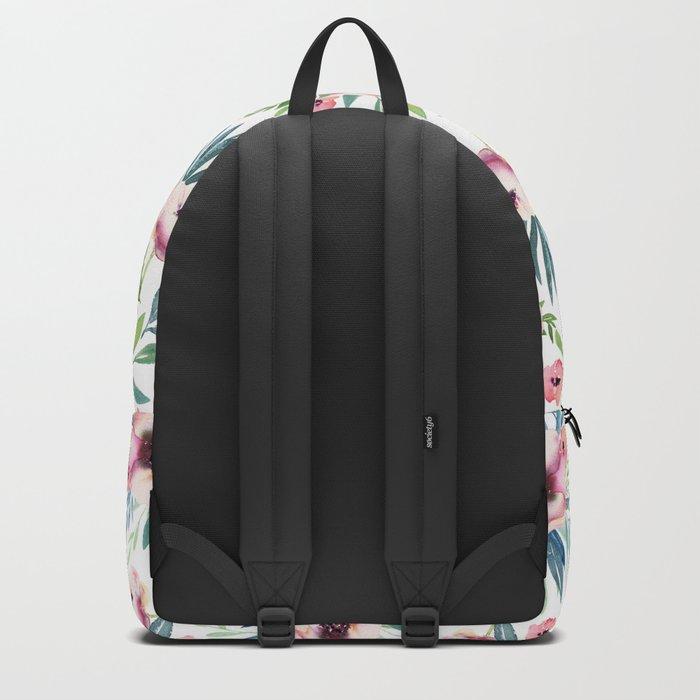 Flowers in Bloom Pattern Backpack