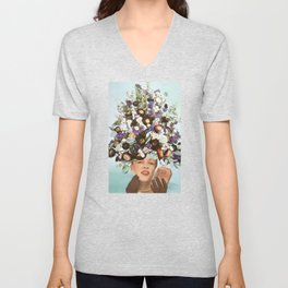 Floral Fashions III Unisex V-Neck