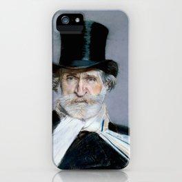 Giuseppe Verdi (1813 – 1901) by Giovanni Boldini (1842 - 1931)(2) iPhone Case