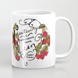 Creativity is Intelligence Coffee Mug