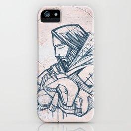 Jesus Christ Good Shepherd iPhone Case