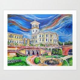 Osborne House Art Print