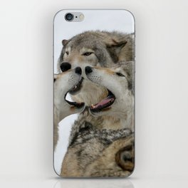 Shouting Match iPhone Skin